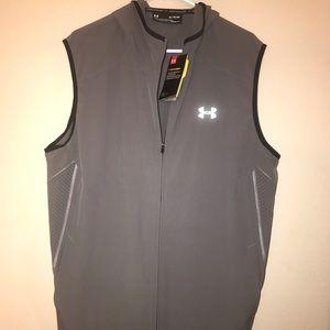 Men's Under Armour Water Resistant Hooded Vest